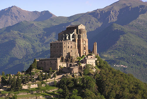 SUSA VALLEY: SANT'ANTONIO ABBEY – SACRA DI SAN MICHELE