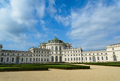 STUPINIGI: lodge and Baroque furniture museum